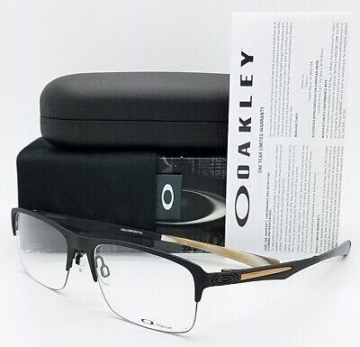 NEW Oakley Hollowpoint 0.5 RX Eyeglasses Frame Black OX5091-0154 54mm (Oakley Wood Frame Sunglasses)