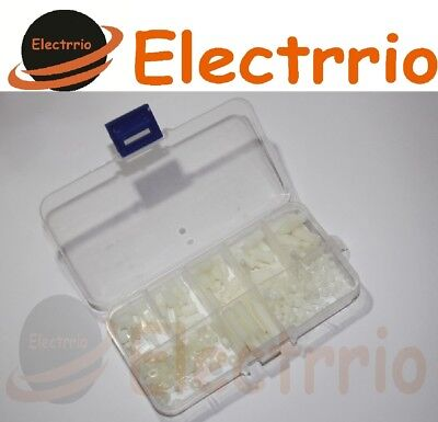EL2519-CJ Lote Separadores Tornillo Nylon PCB Hexagonal Separador M3 Electronica