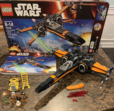 LEGO Star Wars Poe's X-Wing Fighter 75102 Used 100% Complete & Clean