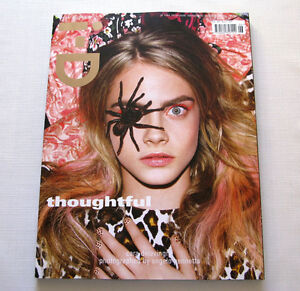 i.D UK Magazine Cara Delevingne, Laetitia Casta Issue #322 Winter 2012 New