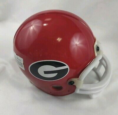 Football Noise Makers (Georgia Bulldogs Red Mini Football Helmet 2009 Independence Bowl Noise)