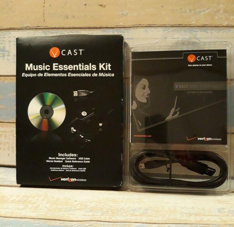 Vintage Verizon V-Cast Music Essentials Kit