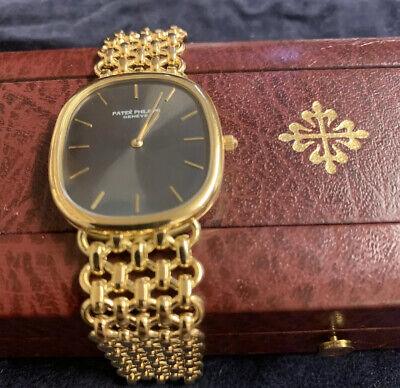 patek philippe watch Ellipce Gents 18ct Solid Gold