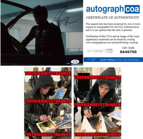 "CURRAN WALTERS signed ""TITANS"" 8X10 PHOTO e PROOF - ROBIN Jason Todd ACOA COA"