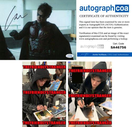"CURRAN WALTERS signed ""TITANS"" 8X10 PHOTO j PROOF - ROBIN Jason Todd ACOA COA"
