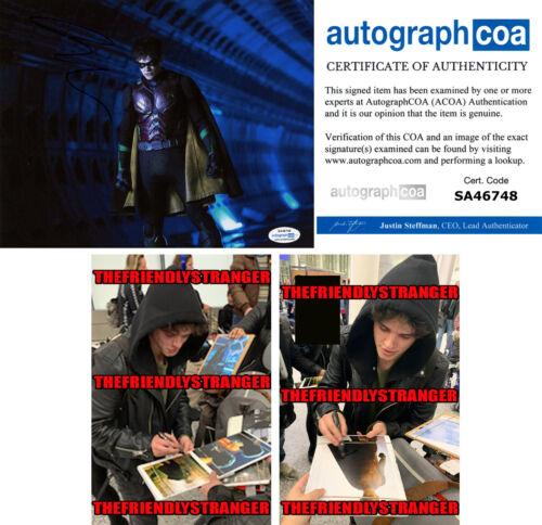 "CURRAN WALTERS signed ""TITANS"" 8X10 PHOTO c PROOF - ROBIN Jason Todd ACOA COA"