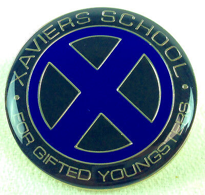 X-MEN - XAVIERS School for Gifted Youngsters - Movie & Comic series Enamel Pin