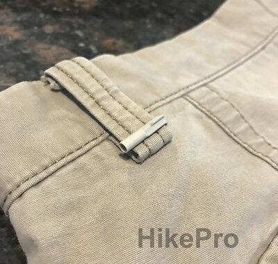 Usa Handcuff Micro Key W Clip Urban Non-metallic Covert Evasion Khaki - Tan
