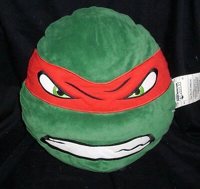 TEENAGE MUTANT NINJA TURTLES RAPHAEL HIDEAWAY PILLOW STUFFED ANIMAL PLUSH 2014 - Ninja Turtles Stuffed Animals