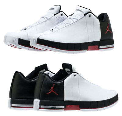 New AIR JORDAN Team Elite 2 Low  Sneaker Mens white black red all sz (All Red Jordans)