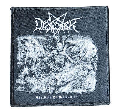 DESASTER The Arts Of Destruction - Patch / Aufnaeher - 9,5 cm x 9,5 cm  - 163006