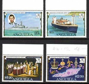 "Anguilla - 1977 Silver jubilee Mi. 269-72 MNH - Enschede, Nederland - Click the button below to view more Commonwealth lots from our extensive offerings. After clicking select ""Great Britain / Commonwealth"" in the blue side-bar on the left. Combine up to 10 lots for single postage rate and keep in mind - Enschede, Nederland"