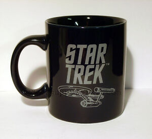 Star Trek Original Series **ENTERPRISE** 12oz Coffee Mug NEW