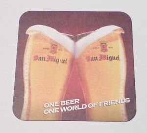 PHILIPPINES-Beer-Mat-Coaster-SAN-MIGUEL-2012-One-Beer-One-World-Friends