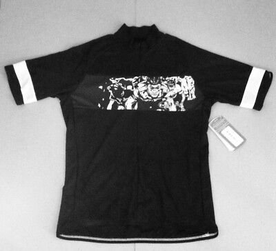 Sugoi Riders Eddy Merckx The Cannibal Jersey Size Large Black New 808a9fba6