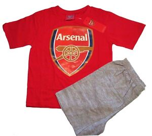 BOYS FOOTBALL PYJAMAS SETS ARSENAL MAN CITY LIVERPOOL PJS