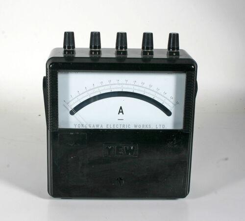 Yokogawa Electric Works  Amp  Meter - Type 2011