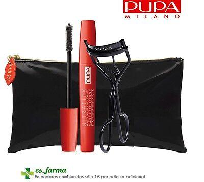Pupa Ultraflex Kit Tabs Maske Lockenstab Kosmetikbeutel Eyelash Mask Curler Bag - Pupa Kosmetik