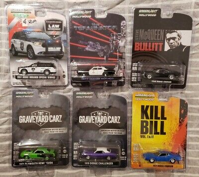 Greenlight Lot of 6 Miscellaneous Cars *MIB* #7