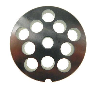 12 X 12 12mm Stainless Meat Grinder Plate For Biro Or Berkel 2 34 Diameter
