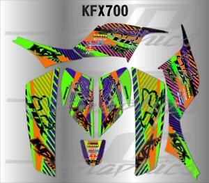 KAWASAKI KFX 700 GRAPHICS KIT DECALS