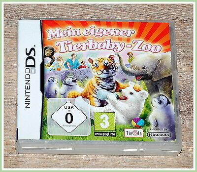 Mein eigener Tierbaby-Zoo (Nintendo DS, 2009) Lernspiele Kinder Geschenke  ()