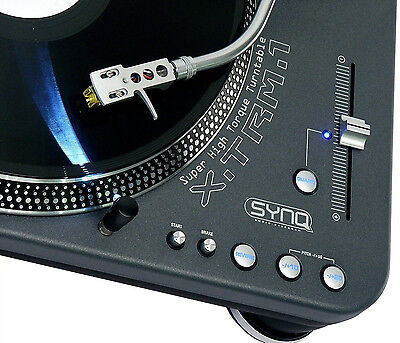 SYNQ X-TRM-1 Profi turntable DJ Plattenspieler XTRM 1 NEU OVP