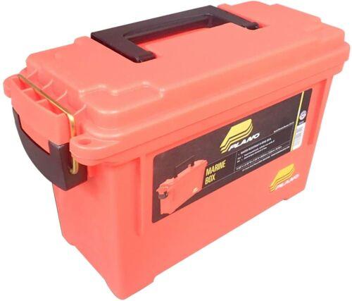 Plano 131252 Dry Storage Emergency Marine Box,Durability,Water Resistant, Orange