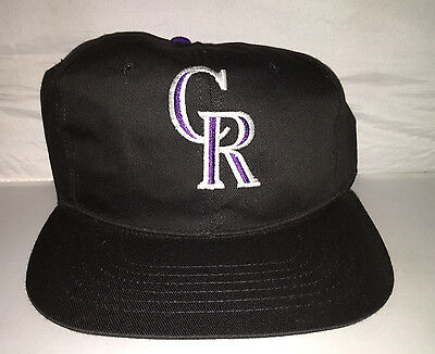 Snapback Hut Mütze 90er Jahre MLB Baseball Balance (Colorado Rockies Hut)