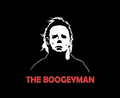 Michael Myers The Boogeyman Sticker - Halloween I Movie Mask Decal - Halloween The Boogeyman