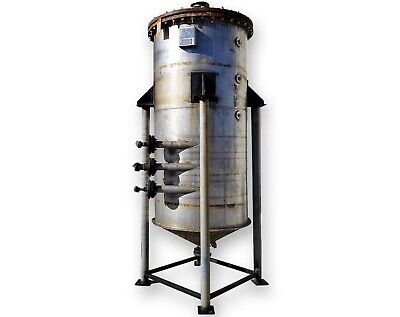 480 Gallon Stainless Steel Liquid Jacketed Tank