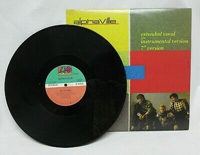 "ALPHAVILLE BIG IN JAPAN 12"" VINYL RECORD 1984 ATLANTIC 33 VINTAGE RARE MUSIC"