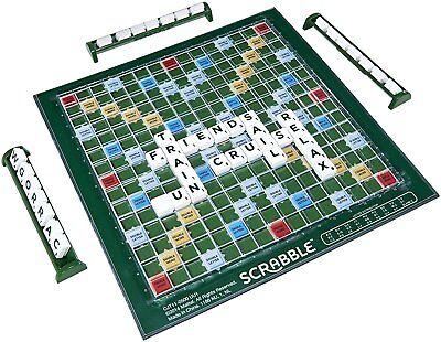 Travel Size Original Scrabble Board Game Compact Age 10+