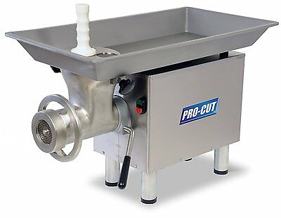 Pro-cut Kg-22-w Commercial Meat Grinder Mincer - 1hp 110v