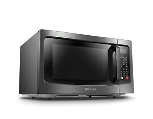 Combination Convection Microwave Oven Stainless Steel Smart Sensor Led Dorm Room