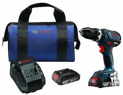 Bosch Hds183-02-rt 18v Ec Brushless 12-inch Cordless Hammer Drill Driver Kit