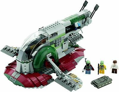LEGO Star Wars Slave I Set 8097 Complete W/ Box + Instructions + Minifigs