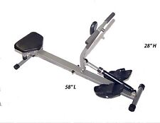Rowing Machine Adjustable 10 minutes All Muscles Cardio Resistance Workout