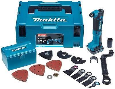 Makita Akku Multifunktionswerkzeug TM30DY1JX5 10,8 V 1,5 Ah Akku & Zubehör Set