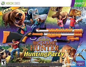 Cabelas Big Game Hunter: Hunting Party with Gun  Xbox 360