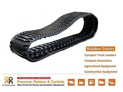Rubber Track 457x101.6x51 Cat 287 287b Asv Rc85 Rc100 2810 Terex Pt100