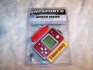 GWP-Sport-Original-Gift-Purchase-WIRED-WEAR-6-Video-Game-Lanyard-Electronic-NIP