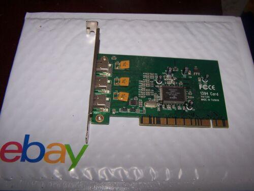 Firewire 3 Port PCI 1394 Card