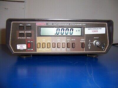 10889 Keithley 485 Autoranging Picoammeter