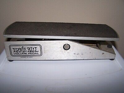 Ernie Ball Volume Pedal for Guitar, Bass, Keyboards Etc.