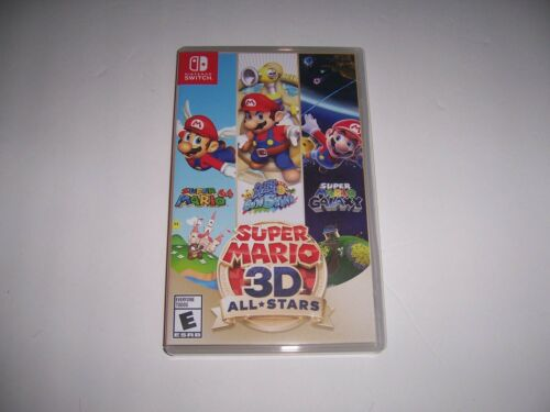 AUTHENTIC Replacement Case Box Nintendo Switch - Super Mario 3D All-Stars