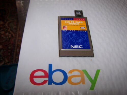 NEC USRobotics 56K PC Card PCMCIA Modem Model KJ1560