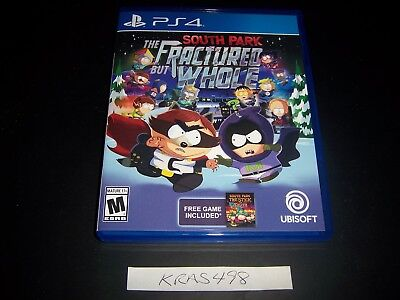 Replacement Case  No Game  South Park Fractured But Whole Playstation 4 Ps4 Box