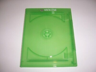 XBox One XB1 Game Case HOLDS 2 Disc Genuine Microsoft OEM Replacement CD DVD Box (Case Holds One Cd)