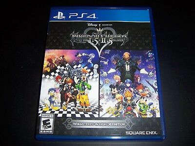 Replacement Case (NO GAME) KINGDOM HEARTS HD I.5 + II.5 PlayStation 4 PS4 Box comprar usado  Enviando para Brazil